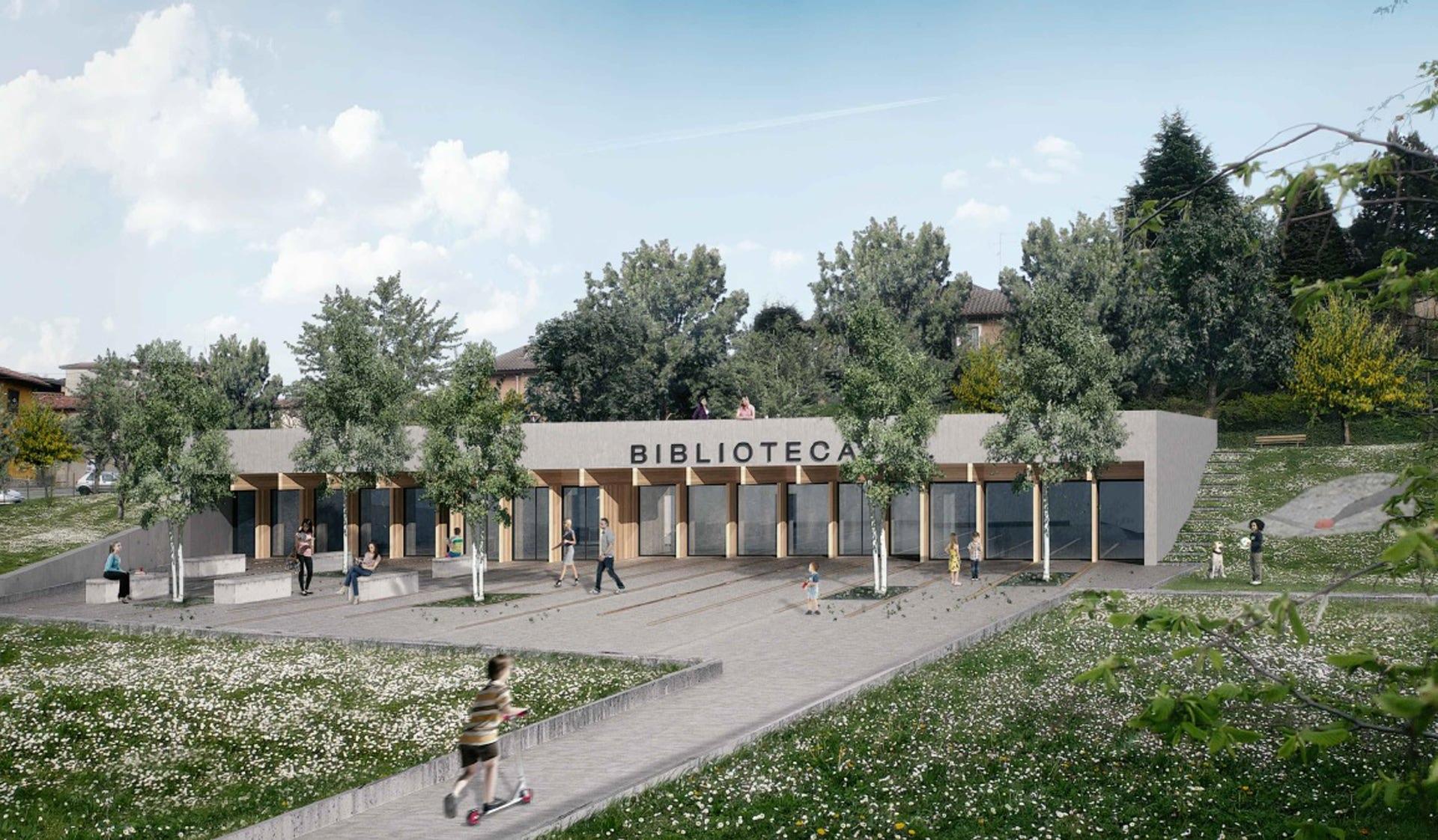 Competition Library in Briosco